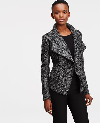 Image of Marled Boucle Jacket