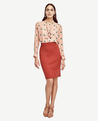 Image of Floral Removable Tie Neck Blouse