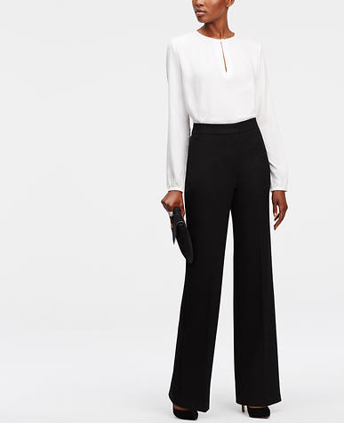 Image of High Waisted Wide Leg Trousers
