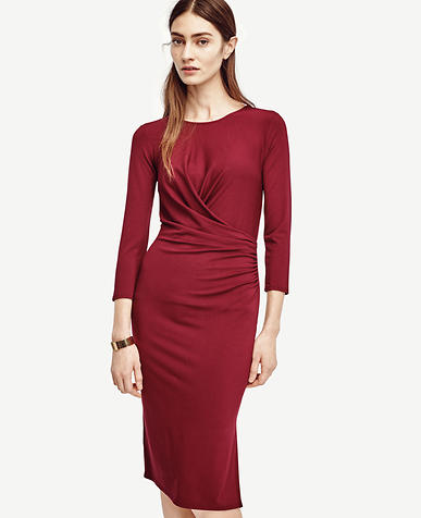 Image of Ruched Jersey Dress
