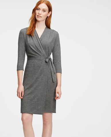 Image of Jersey Wrap Dress