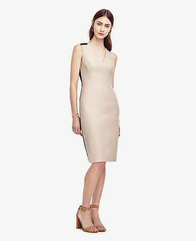 Image of Cotton Linen Sheath Dress