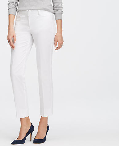 Image of Petite Kate Stretch Cotton Cropped Pants