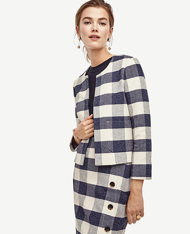 Image of Gingham Jacket
