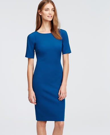 Image of Tall Short Sleeve Contour Dress