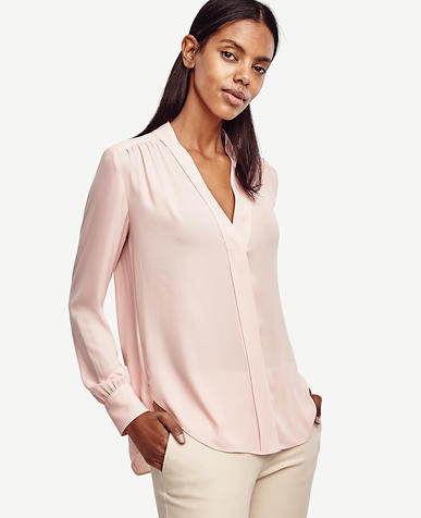 Image of V-Neck Blouse