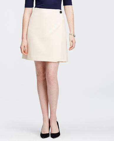 Image of Petite Wrap Skirt
