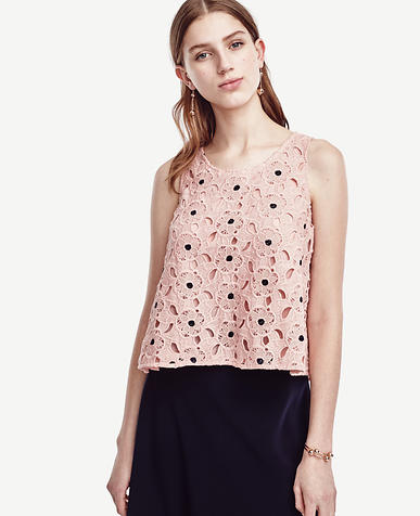 Image of Begonia Lace Tank