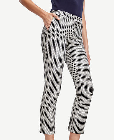 Image of Tall Devin Jacquard Ankle Pants