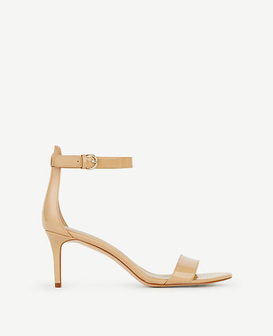 Image of Kaelyn Patent Strappy Sandals