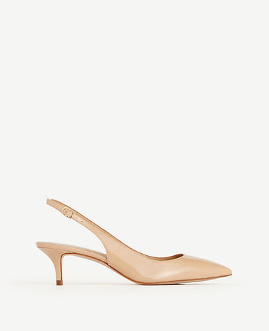 Image of Zosia Patent Slingback Heels