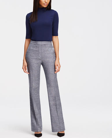 Image of Tall High Waist Flare Trousers