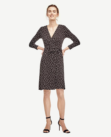 Image of Dot Wrap Dress