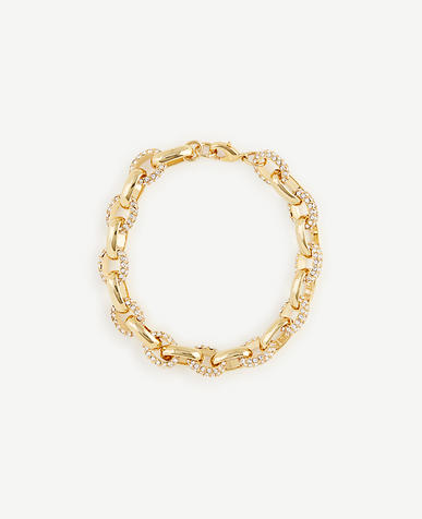 Image of Pave Link Bracelet
