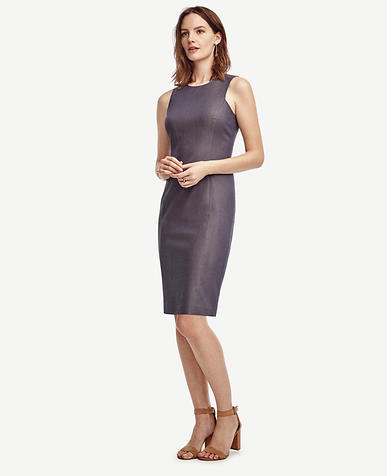 Image of Sharkskin Sheath Dress