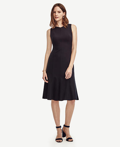 Image of All-Season Stretch Flounce Dress