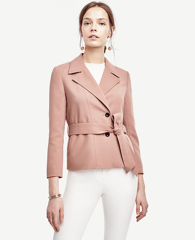 Image of Belted Twill Jacket