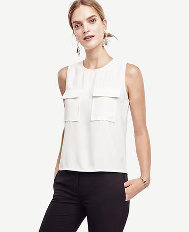 Image of Sleeveless Pocket Shell