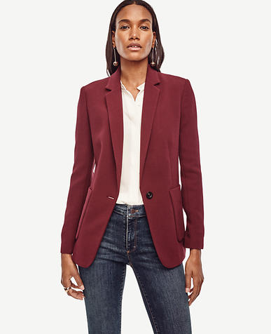 Image of Refined One Button Blazer