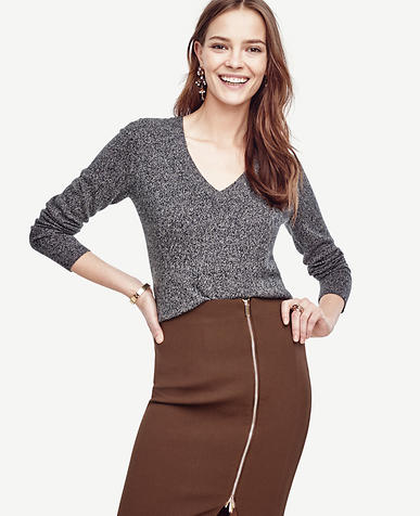 Image of Cashmere V-Neck Sweater