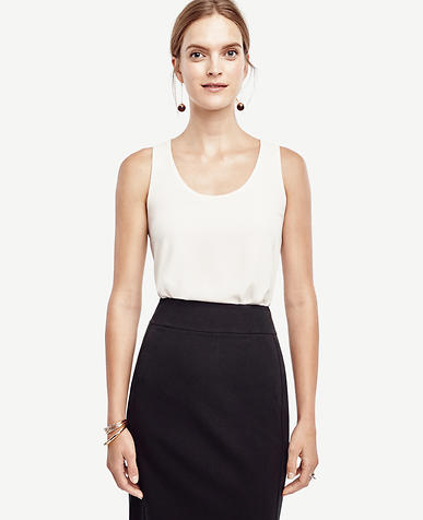 Image of Petite Mixed Jersey Tank