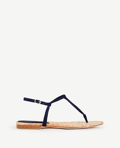 Image of Matilda Suede Thong Sandals