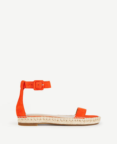 Image of Veka Suede Espadrille Sandals