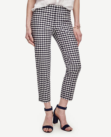 Image of Kate Gingham Crop Pants