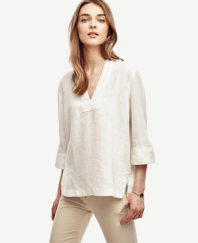 Image of Petite Linen Tunic