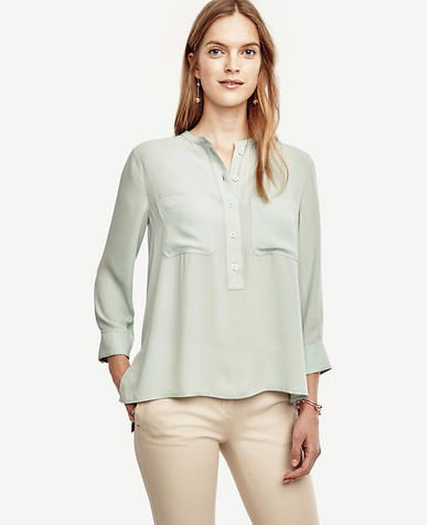 Image of Petite Pocket Popover Tunic