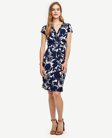 Image of Petite Tropic Wrap Dress
