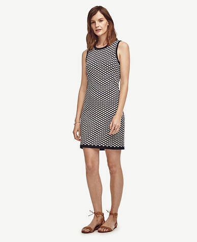 Image of Deco Jacquard Shift Dress