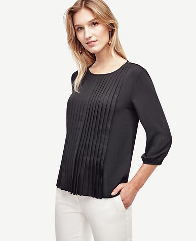 Image of Pleated Blouse