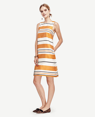 Image of Mod Stripe Shift Dress