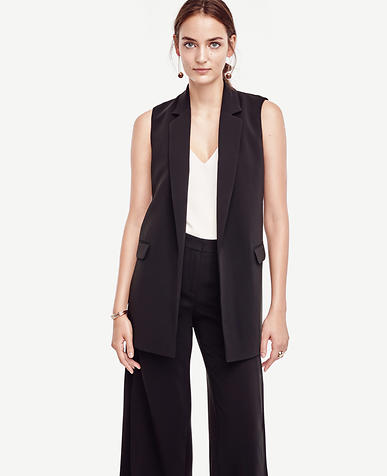 Image of Petite Triacetate Midi Vest