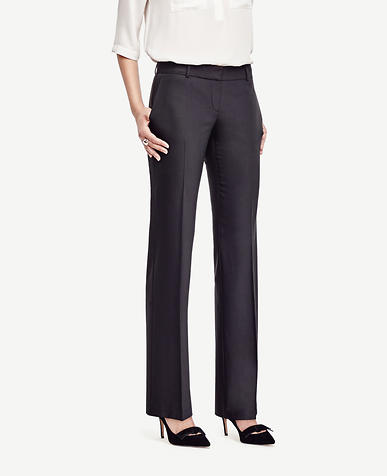Image of Petite Kate Tropical Wool Trousers