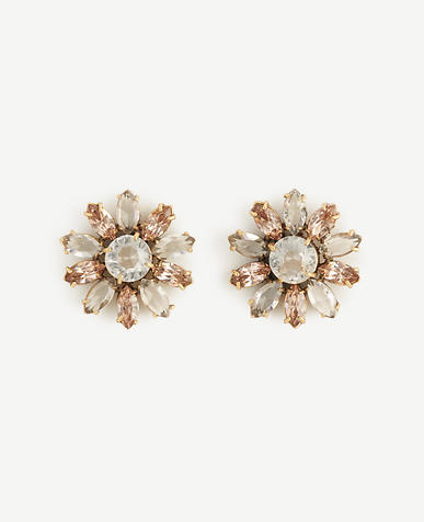 Image of Crystal Flora Earrings