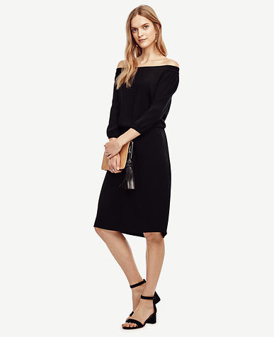 Image of Off the Shoulder Dress