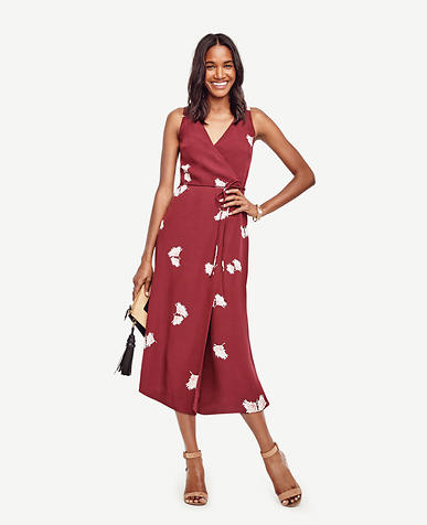 Image of Summer Blossom Midi Dress