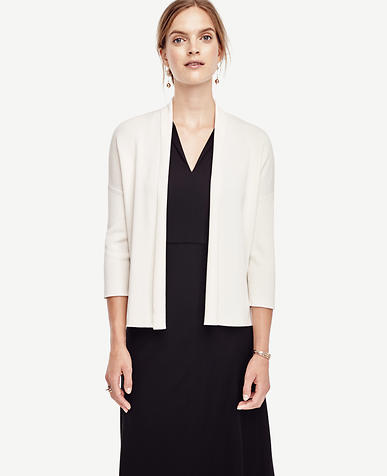 Image of Open Front Cardigan
