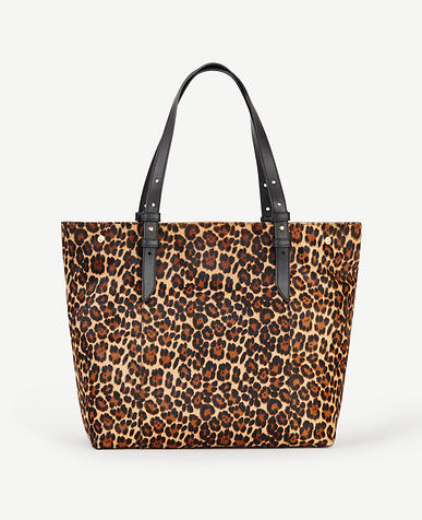 Image of Buckle Haircalf Tote