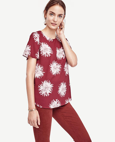 Image of Chrysanthemum Polished Tee
