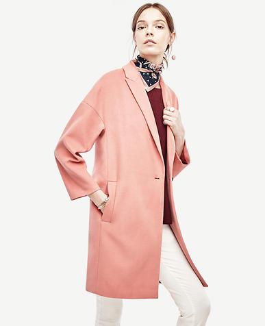 Image of Petite Cocoon Coat