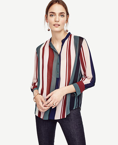 Image of Mixed Stripe Popover