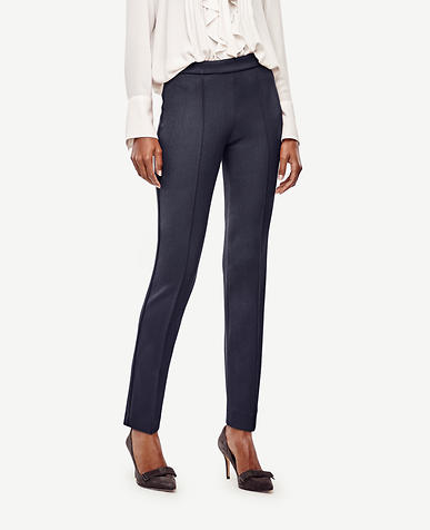 Image of Petite Pintucked Ankle Pants