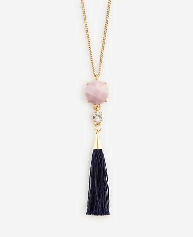 Image of Crystal Tassel Pendant