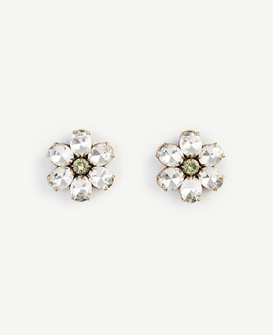 Image of Crystal Daisy Stud Earrings