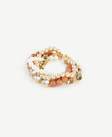 Image of Pearlized Twist Bracelet