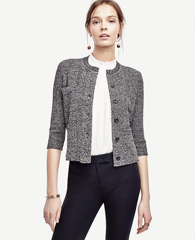 Image of Marled Sweater Jacket