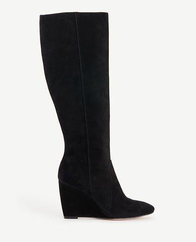 Image of Rosemary Suede Wedge Boots